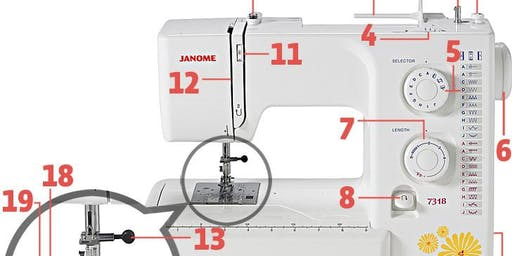 Sewing Machine Basics+