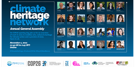 Climate Heritage Network Annual General Assembly (In-Person Attendance) tickets