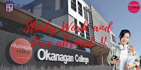 ❗FREE WEBINAR: Study, Work & Live in Canada! Okanagan College tickets