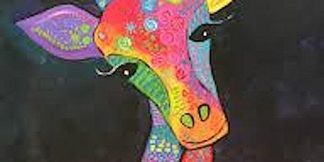 Paint and Sip Giraffe tickets