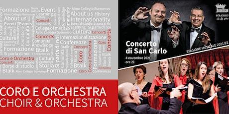 Concerto di San Carlo biglietti