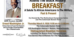 March 3, 2016 Black History Breakfast Salute To...