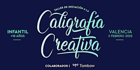 ✍️ Taller INFANTIL de Caligrafía Creativa. RUBIO - 5 febrero  - Valencia entradas