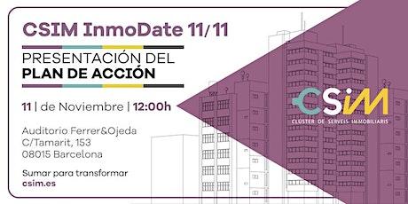 InmoDate 11/11: Presentación del plan de acción entradas