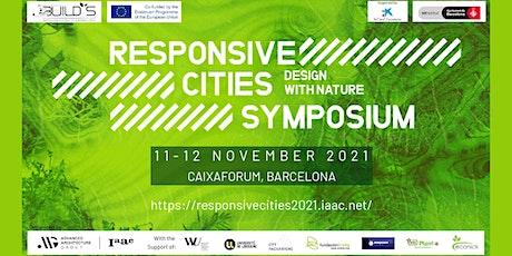Responsive Cities Symposium: Design with Nature entradas