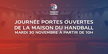 Journée portes ouvertes de la Maison Du Handball billets