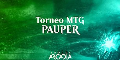 Torneo MTG Pauper Mercoledì 3 Novembre tickets