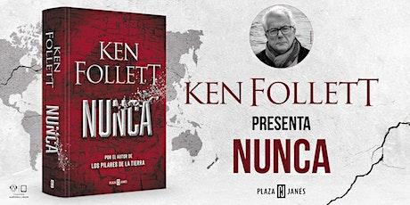 Encuentro exclusivo con Ken Follett entradas