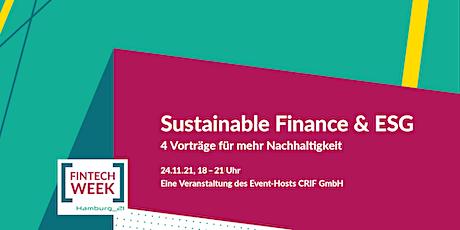 Sustainable Finance & ESG – 4 Vorträge für mehr Nachhaltigkeit Tickets