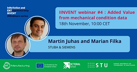 INVENT Webinar - Added value from mechanical condition data tickets