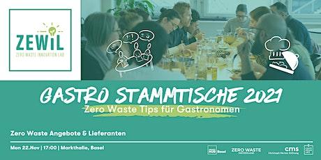 Zero Waste Gastro Stammtisch # 3 - Zero Waste Angebote & Lieferanten Tickets