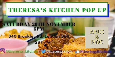 Theresa's Kitchen Pop up Restaurant tickets