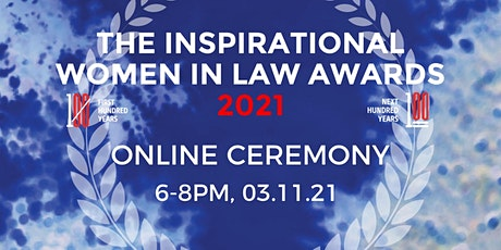 Inspirational Women In Law Awards 2021 tickets