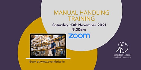 Manual Handling Theory Course tickets