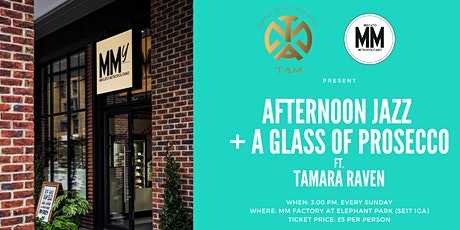 Elephant Park Sunday Jazz Afternoon ft. Tamara Raven + A Glass of Prosecco tickets