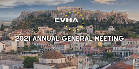 EVHA - Annual General Meeting  2021 tickets