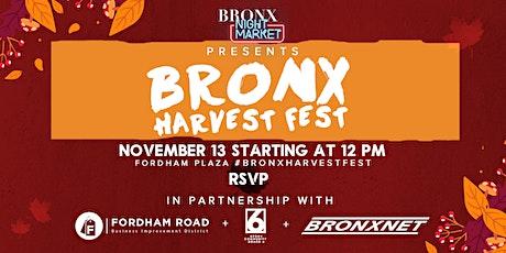 Bronx Harvest Festival tickets