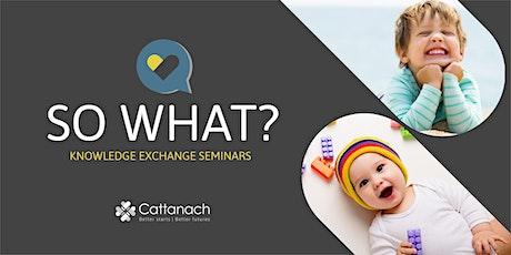 SoWhat? Knowledge Exchange Seminar with Dr Ingela Naumann tickets