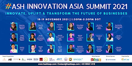 2nd Annual HASH Innovation Asia Summit 2021 tickets