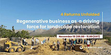 Regenerative business as a driving force of landscape restoration tickets