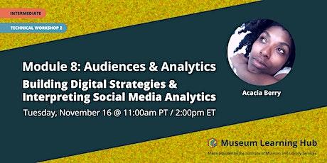 Mod 8 Tech 2: Building Digital Strategies, Interpret Social Media Analytics entradas