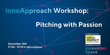 innoApproach: Pitching with Passion (advanced) tickets