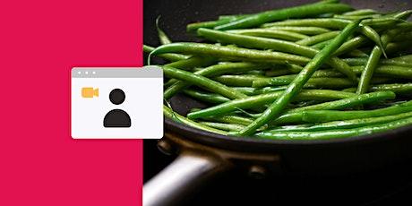 Chinese Cooking: Green Bean Stir Fry Workshop tickets