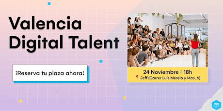 Valencia Digital Talent entradas