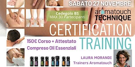 BRESCIA - Cedegolo Corso AromaTouch Technique dōTERRA tickets