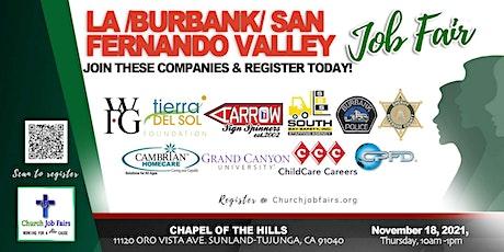 LA /Burbank/ San Fernando Valley Job Fair tickets
