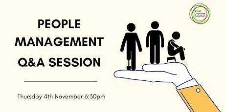People Management for Small Charities   -  Q&A Session Tickets