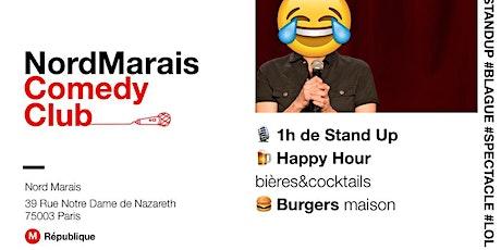 STAND UP // Nord Marais Comedy Club - Gratuit  billets