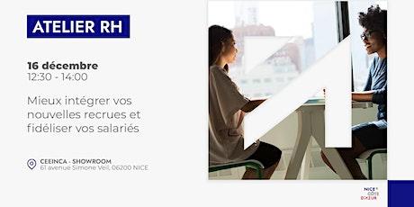 Atelier RH : Mieux intégrer vos nouvelles recrues et fidéliser vos salariés billets