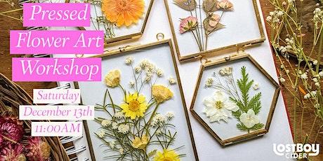 Pressed Flower Art Workshop! tickets