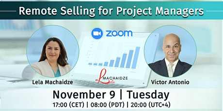 Free Webinar - Remote Selling for Project Managers tickets