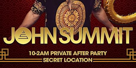 John Summit - Secret After Party tickets