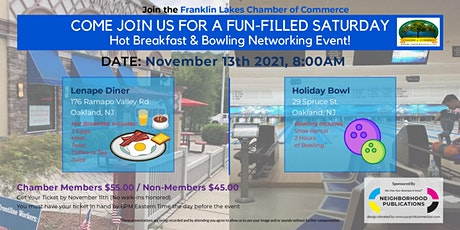 Hot Breakfast & Bowling Networking Event tickets