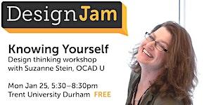 DesignJam - Knowing Yourself - Jan 25, 2016
