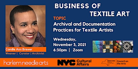 Archival and Documentation Practices for Textile Artists tickets