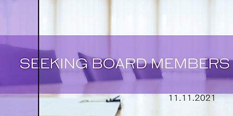 Ladies of Favor Inc. Board of Directors Interest Meeting tickets