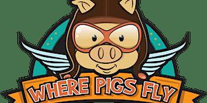 Where Pigs Fly - Sanctuary Tour - Wednesday 13 April