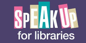 Speak Up for Libraries Lobby of Parliament