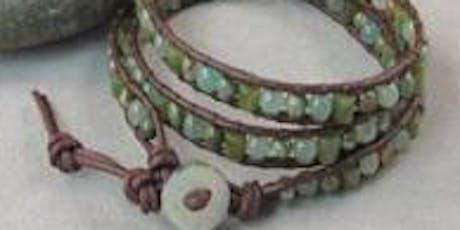 Leather Wrap Bracelet Class tickets