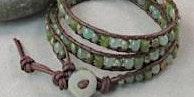 Leather Wrap Bracelet Class