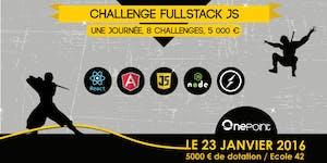 Challenge Full-stack JS
