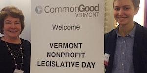 Vermont Nonprofit Legislative Day 2016