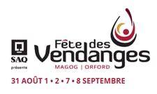 Fête des Vendanges de Magog Orford logo