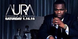 50 Cent hosts AURA