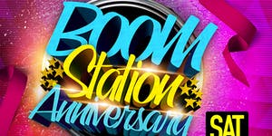 Boom station Anniversary March 19th 2016