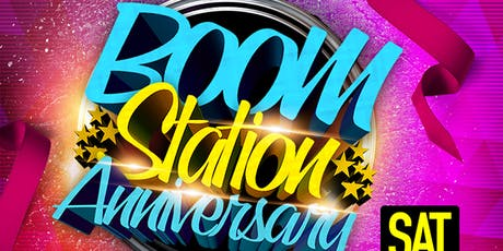 Boom station Anniversary March 19th 2016 tickets